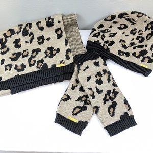 CK Hat, Scarf & Glove Set
